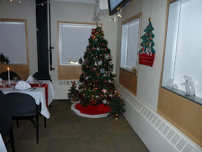 Photo: Dining Hall Tree and Galley Dectorations