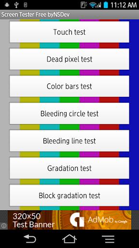 Screen Tester Free byNSDev 1.0.2 Windows u7528 1