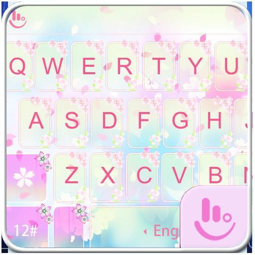 Sakura Love Keyboard Theme 生活 App LOGO-硬是要APP