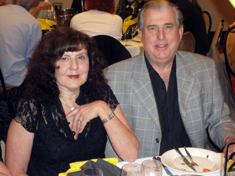 Ronald Bobroff and his wife, Elaine. File Picture: SUPPLIED