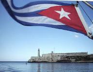 Cuban flag. Cuba, an excellent tourist destination