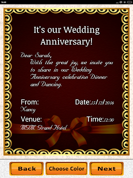 Download anniversary invitation maker party wedding wishes apk anniversary invitation maker party wedding wishes poster stopboris