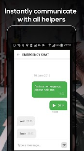 CrowdProtect - Your Emergency Community- screenshot thumbnail