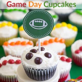Skittles® Game Day Cupcakes.
