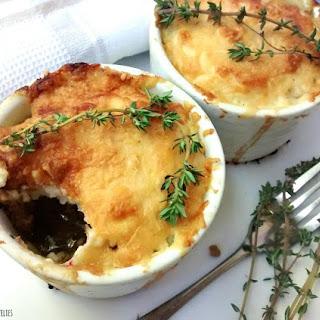 Single Serve Shepherd's Pie w/ Cheesy Cauliflower Mash