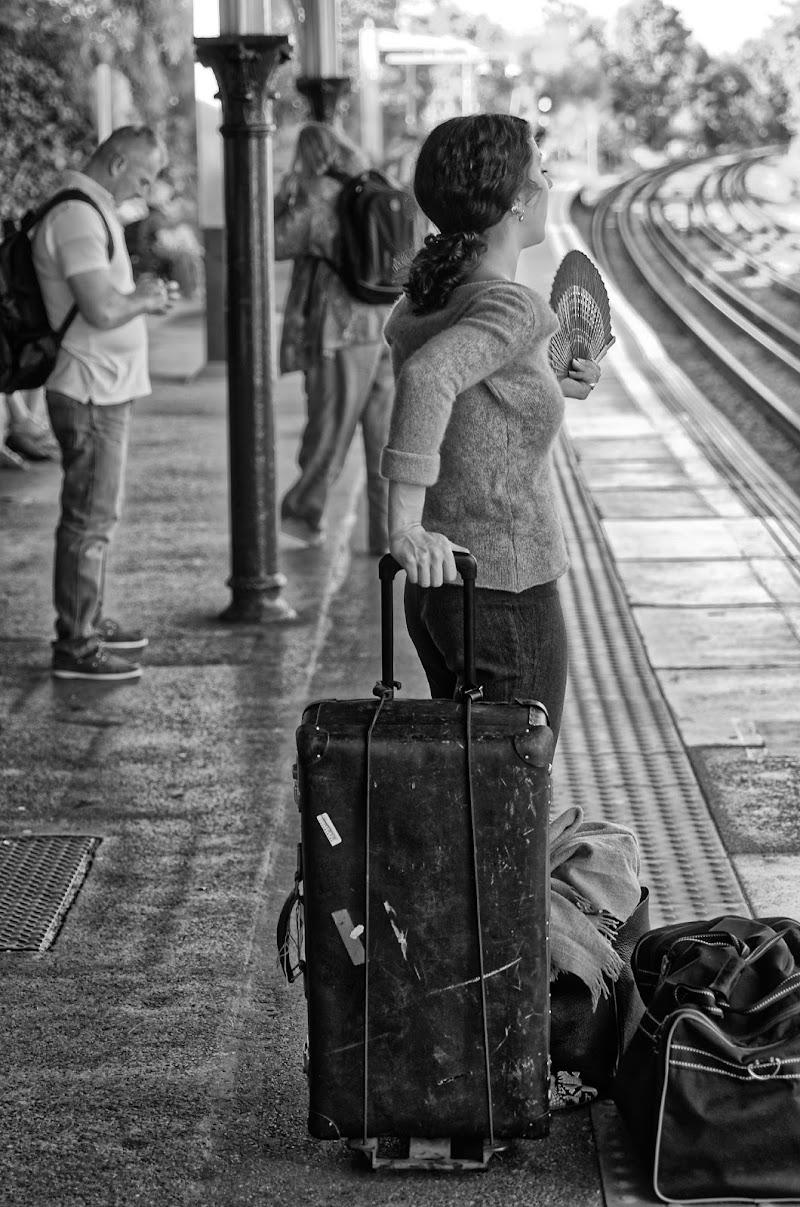 Uff...ma quando arriva sto treno... di Yasis