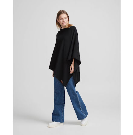 Holebrook Sofie poncho black