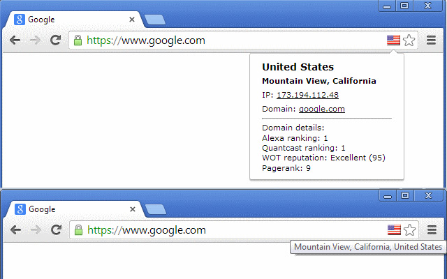 IP Domain Country Flag