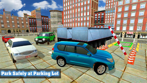 Prado Luxury Car Parking Mania 4x4 Jeep Adventure Game Apk Free