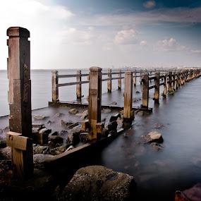 broken way by Erwan Photochrome - Landscapes Travel