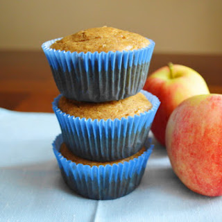 Apple Almond Butter Muffins