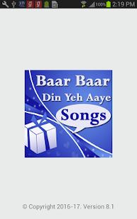 Baar Baar Din Ye Aaye - Birthday Celebration Song - náhled