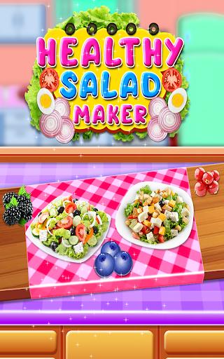 Healthy Salad Maker - Kitchen Food Cooking Game 1.0 screenshots 1