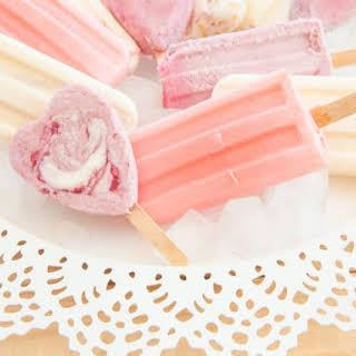 Yogurt Popsicles.