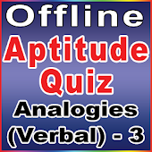 Analogies - 3(Aptitude Quiz)
