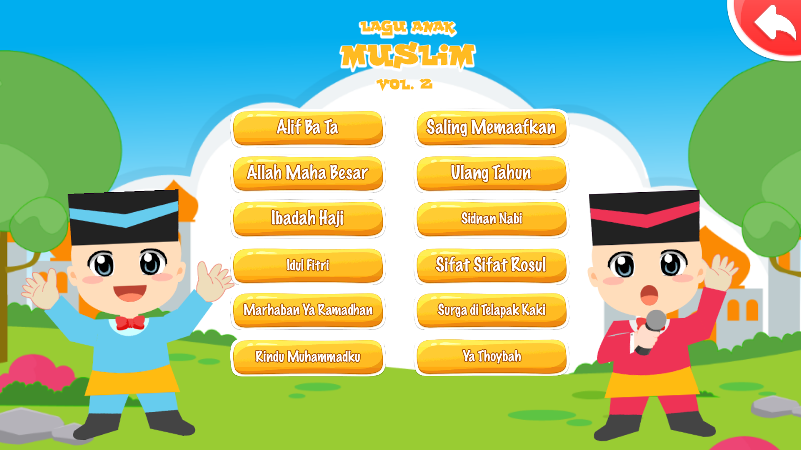 Lagu Islami Anak Muslim Vol 2 Android Apps On Google Play