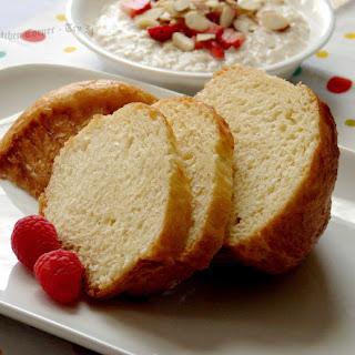 Orange Blossom Brioche Bread