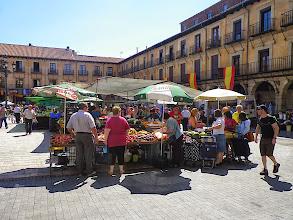 Photo: Marché plaza Mayor