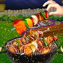 Grill BBQ Backyard Cooking Fun icon