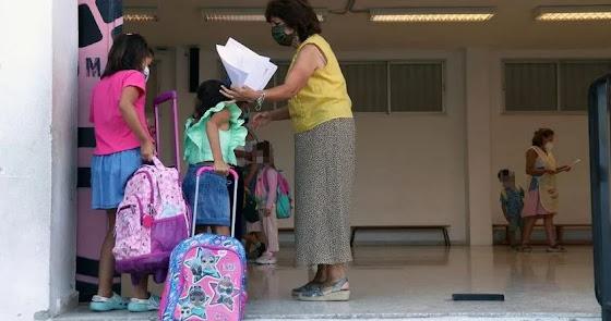 Las mascarillas no serán obligatorias en los patios de los colegios de Madrid