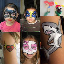 Photo: Face Painting by Maria Velarde from Chino, Ca. She also does balloon twisting and services the entire Inland Empire.http://www.memorableevententertainment.com/FacePainting/MariaChino,Ca.aspx