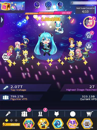 Hatsune Miku - Tap Wonder 1.0.1 screenshots 12