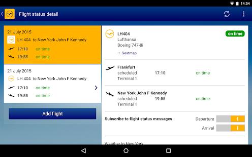 Lufthansa- screenshot thumbnail