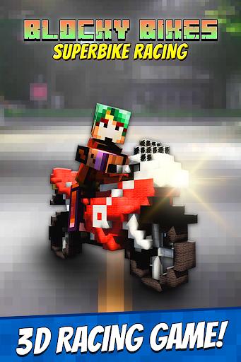 Blocky Bikes: Superbike Racing