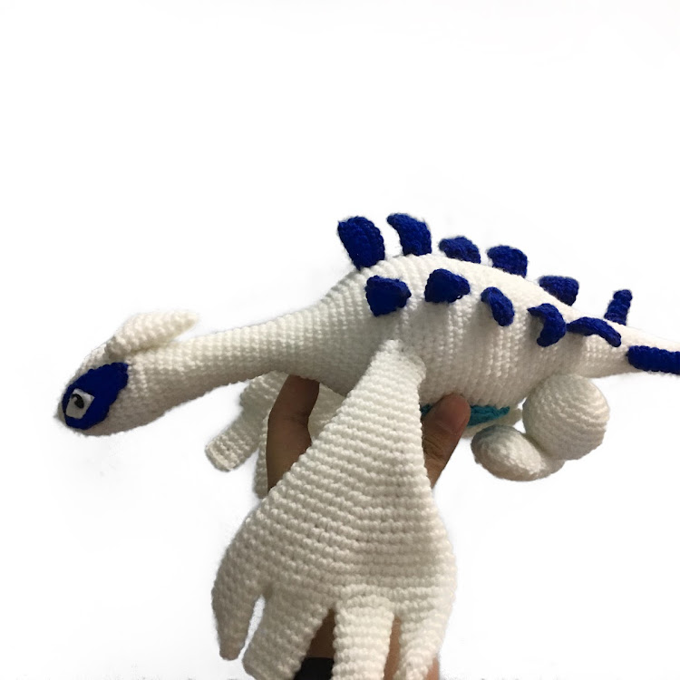 Crochet Pokemon Lugia by Ricincraft