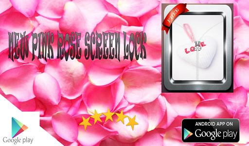new Pink Roses screen lock
