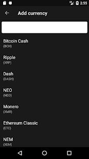Cryptofolio - náhled
