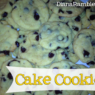 Quick Cake Cookies