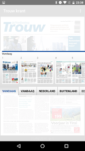 Trouw digitale krant screenshot 4