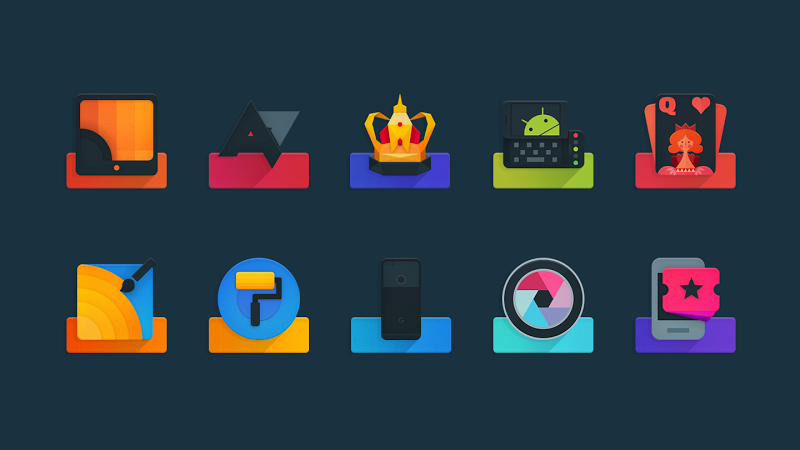 Ombre – Icon Pack v1.2