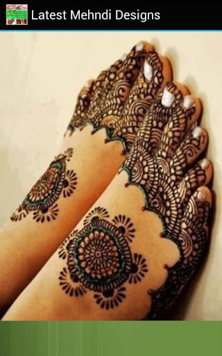 Latest Mehndi Designs Apk Download 8