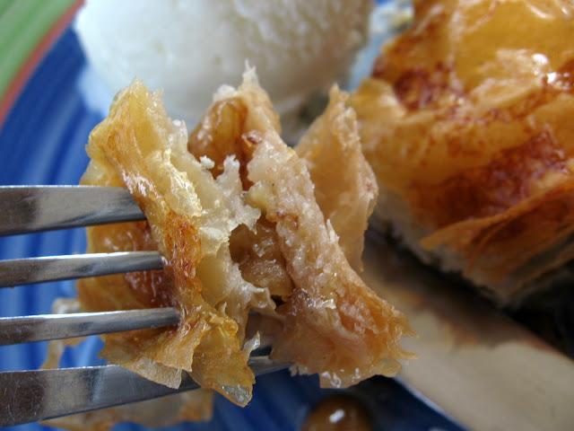 Баклава с орехи и масло