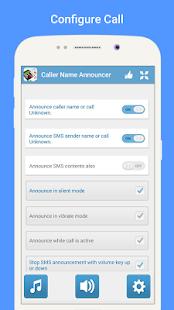 Caller Name SMS Vyhlašovatel - náhled