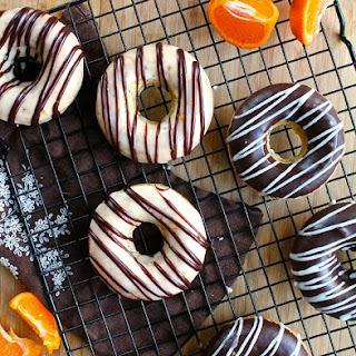 Orange Poppy Seed Doughnuts
