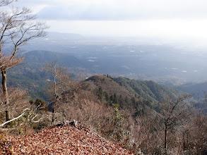 下に岩ヶ峰