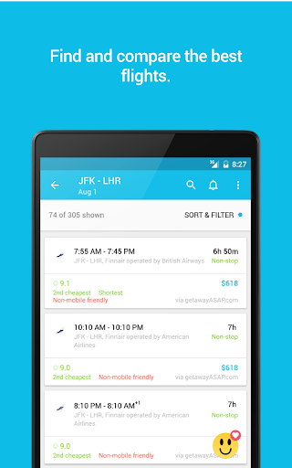 Skyscanner 5.49 screenshots 13