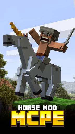 Horse MODS For MCPE.