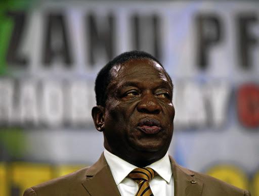 Zimbabwean President Emmerson Mnangagwa. Picture: REUTERS