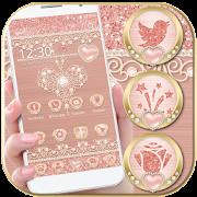 App Rose Gold Launcher Diamond Heart Theme APK for Windows Phone