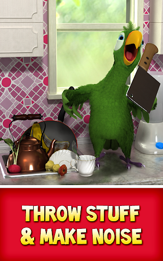 Talking Pierre the Parrot Free screenshot 12