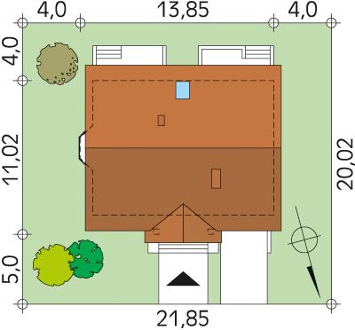 Goździk 2 CE - Sytuacja
