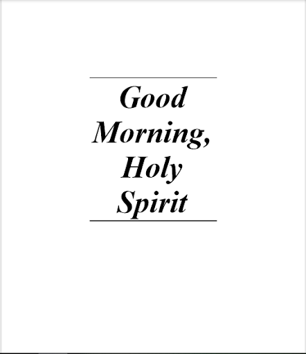 Good Morning Holy Spirit 11.0 screenshots 2