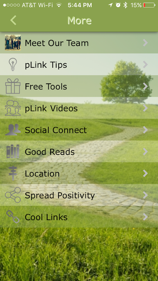 The Positivity Link- screenshot