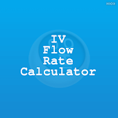 IV Flow Rate Calculator