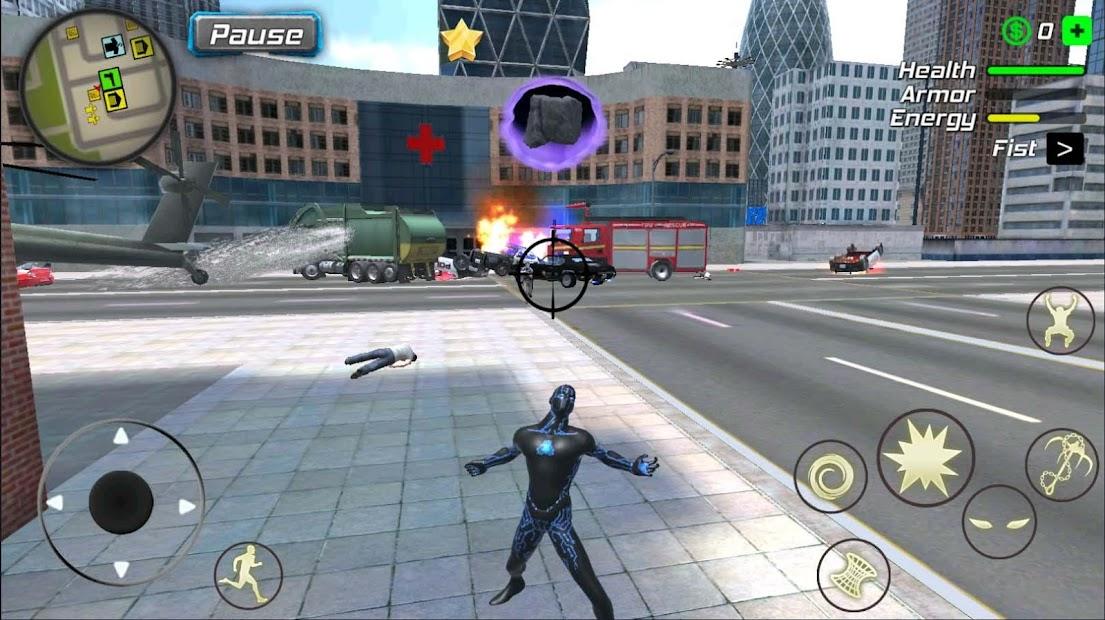 Rope Black Hole Hero : Vice Vegas Mafia