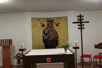 Photo: Det lille kapel, hvor vi holdt gudstjeneste